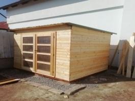 Dřevostavba na nářadí
